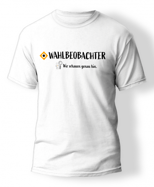 T-Shirt | Wahlbeobachter