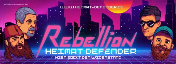 Aufkleber | Heimat Defender: Widerstand! | 100 Stück