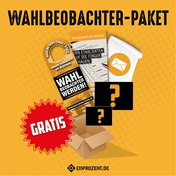 Wahlbeobachter-Paket | kostenfrei
