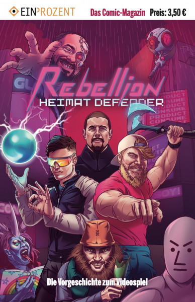 Comic | Heimat Defender