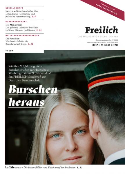 """Freilich-Sonderheft """"Burschen heraus"""""""